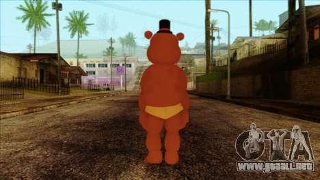Toy Freddy from Five Nights at Freddy 2 para GTA San Andreas segunda pantalla