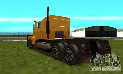 PS2 RoadTrain para GTA San Andreas left