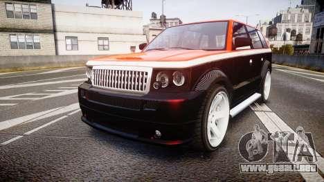 Vapid Huntley Sport RS para GTA 4