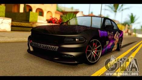 Dodge Charger RT 2015 Hestia para GTA San Andreas