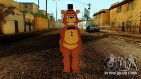 Toy Freddy from Five Nights at Freddy 2 para GTA San Andreas