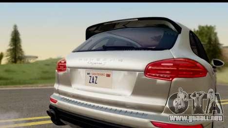 Porsche Cayenne S 2015 para la visión correcta GTA San Andreas