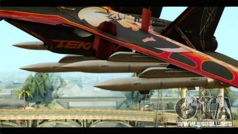 SU-35 Flanker-E Tekken para la visión correcta GTA San Andreas