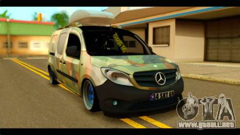 Mercedes-Benz Citan Stance para GTA San Andreas