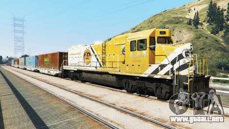 GTA 5 Ingeniero de ferrocarril v2.5 segunda captura de pantalla