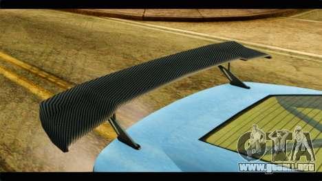 GTA 5 Ocelot F620 IVF para GTA San Andreas vista hacia atrás