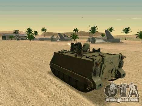 El M113 Blindados De Transporte De Personal para la visión correcta GTA San Andreas