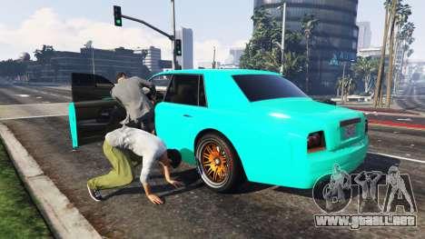 GTA 5 El robo de auto segunda captura de pantalla