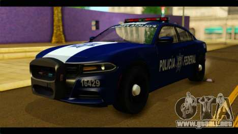 Dodge Charger 2015 Mexican Police para GTA San Andreas