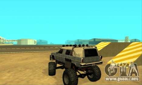 Hellish Extreme CripVoz RomeRo 2015 para vista inferior GTA San Andreas