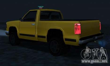 PS2 Yosemite para vista inferior GTA San Andreas