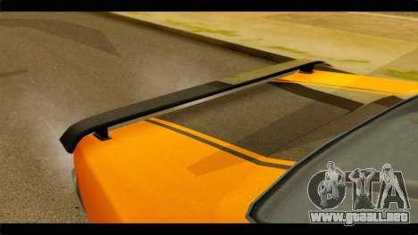 GTA 5 Declasse Sabre GT Turbo IVF para GTA San Andreas vista hacia atrás