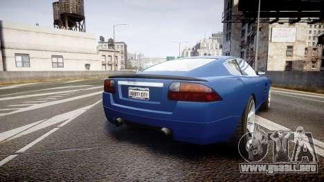 GTA V Ocelot F620 R para GTA 4 Vista posterior izquierda