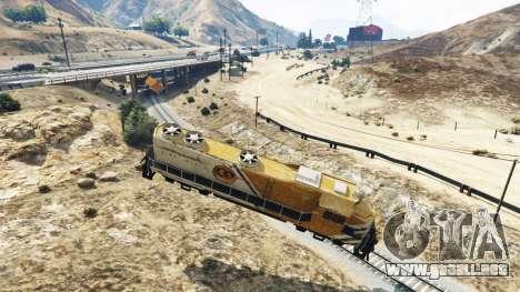 GTA 5 Ingeniero de ferrocarril v2.5 tercera captura de pantalla