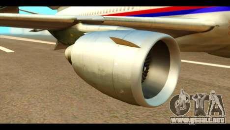 DC-10-30 PLL LOT para la visión correcta GTA San Andreas