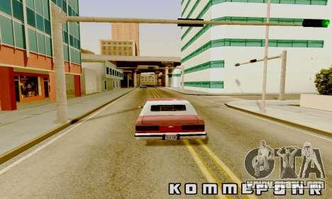 Light ENB Series v3.0 para GTA San Andreas sucesivamente de pantalla