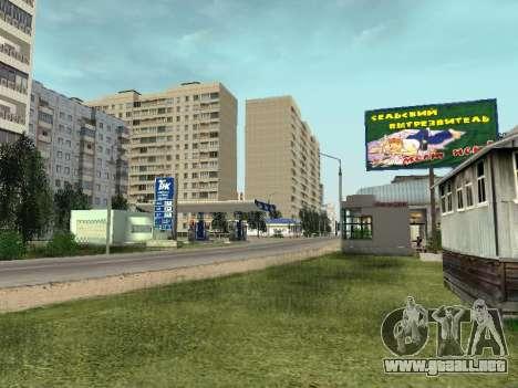 Prostokvashino para GTA Penal de Rusia beta 2 para GTA San Andreas tercera pantalla