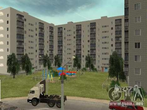 Prostokvashino para GTA Penal de Rusia beta 2 para GTA San Andreas quinta pantalla