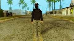 Sicario Skin v10 para GTA San Andreas