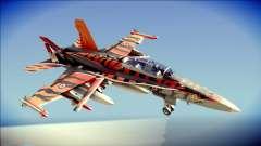 FA-18D Hornet RCAF Tigermeet para GTA San Andreas
