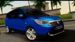 Dacia Lodgy 2014 para GTA San Andreas