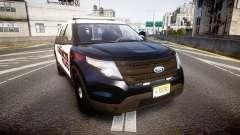 Ford Explorer 2011 Elizabeth Police [ELS] v2 para GTA 4