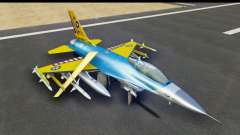 F-16C USAF 111th FS 90th Anniversary para GTA San Andreas