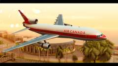 Lookheed L-1011 Air Canada para GTA San Andreas
