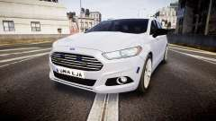 Ford Fusion Estate 2014 Unmarked Police [ELS]