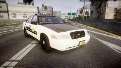 Ford Crown Victoria Liberty Sheriff [ELS] para GTA 4