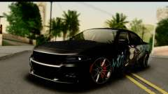 Dodge Charger RT 2015 Sword Art para GTA San Andreas