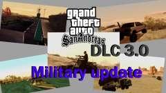 DLC 3.0 Militar de actualización