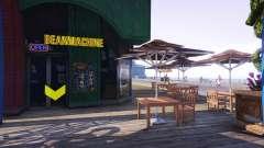 Una tienda de café