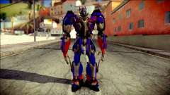Optimus Prime Skin from Transformers para GTA San Andreas
