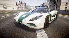 Koenigsegg Agera 2013 Police [EPM] v1.1 PJ4