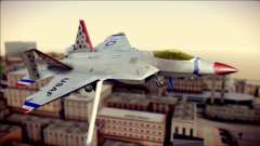 F-22 Raptor Thunderbirds para GTA San Andreas