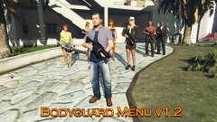 Bodyguard Menu v1.5 para GTA 5