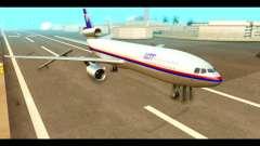 DC-10-30 PLL LOT para GTA San Andreas