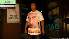 T-shirt for Franklin. - Fizruk para GTA 5