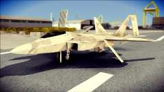 F-22 Raptor Desert Camo para GTA San Andreas