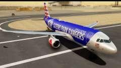 Airbus A320-200 AirAsia Queens Park Rangers para GTA San Andreas