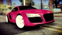 Audi R8 V10 Plus 5.2 FSI 2013 para GTA San Andreas