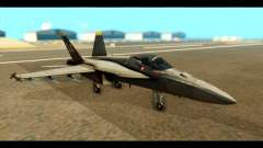 FA-18 Jolly Roger Black para GTA San Andreas