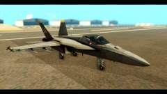 FA-18 Jolly Roger Black