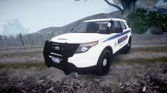 Ford Explorer Police Interceptor [ELS] slicktop para GTA 4