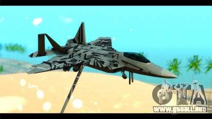 F-22 Raptor Starscream para GTA San Andreas