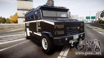 GTA V Brute Police Riot [ELS] skin 5 para GTA 4