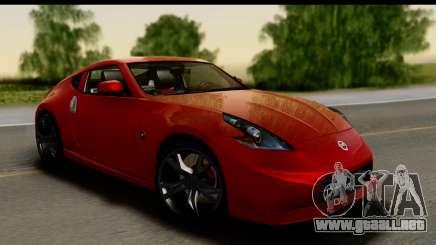 Nissan 370Z Nismo 2010 para GTA San Andreas