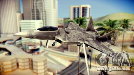F-22 Raptor Digital Camo para GTA San Andreas