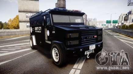 GTA V Brute Police Riot [ELS] skin 2 para GTA 4